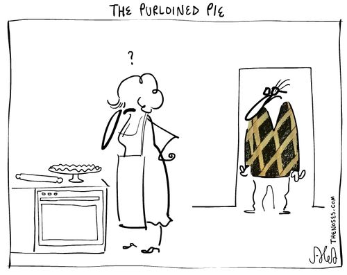 The purloined pie