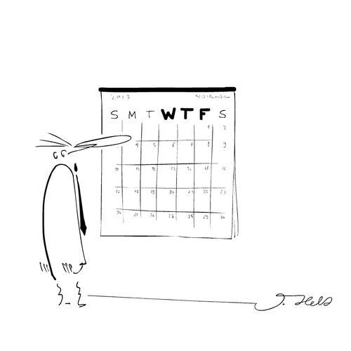 WTF calendar